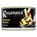 Conserva de tiras de brotes de bambú en agua Kingfisher, 225 g
