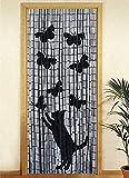 Cortina de bambú gato (90 x 200 cm)