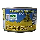 Conserva de brotes de bambú en agua, 227 g