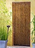 Cortina para puerta de bambú Saigón (115 x 220 cm)